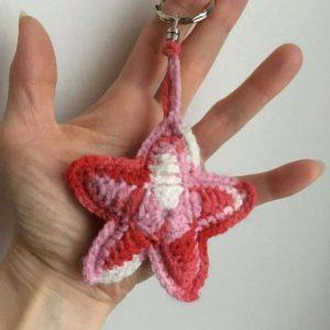 Porte-clés crochet étoile