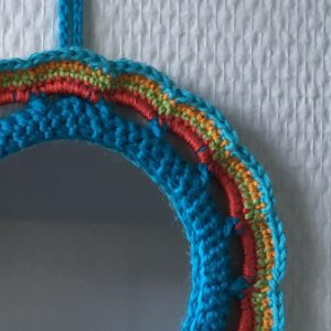 Miroir Rond Multicolore