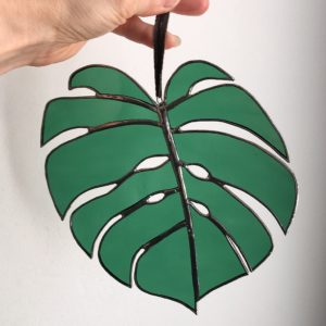 Feuille de Monstera Deliciosa (Suncatcher)